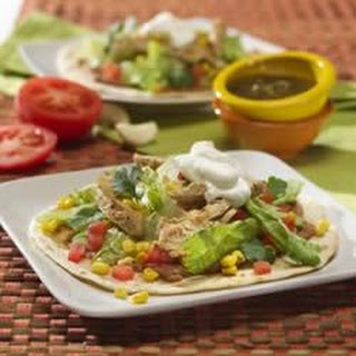 Grilled Tostadas with Roasted Corn