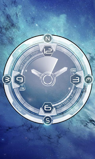 Space Galaxy Compass HD LWP