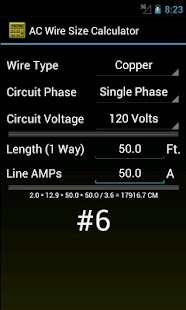 Wire size calculator android apps on google play wire size calculator screenshot thumbnail keyboard keysfo Choice Image