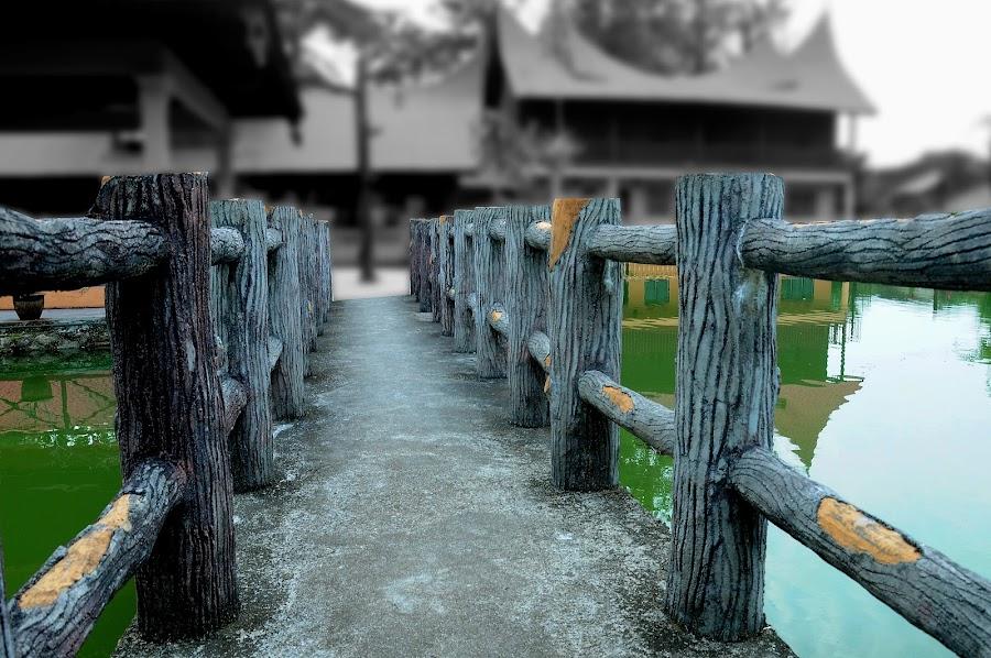 by Mohd Zulkifli Zainudin - Buildings & Architecture Bridges & Suspended Structures ( batang kali resort )