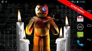 Screenshot of Voodoo Doll Free Wallpaper
