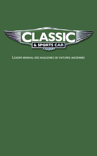 CLASSIC SPORTS CAR MAGAZINE