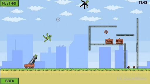 Blaster Ragdoll Zombie 1 screenshots 4