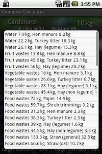 Compost Calculator screenshot 0