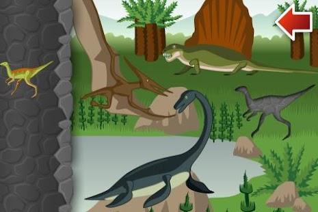 恐龍世界 - 拼圖與益智