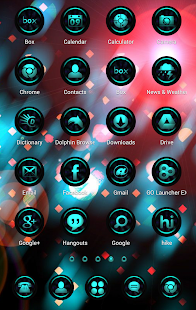 CyanLights Go Apex Nova Theme