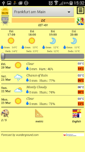 Tiny Weather Forecasts screenshot 1