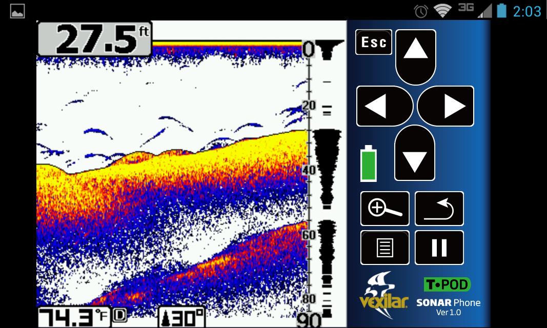 SonarPhone by Vexilar - screenshot