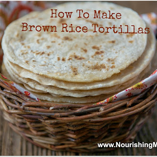 Gluten-Free Brown Rice Flour Tortillas.