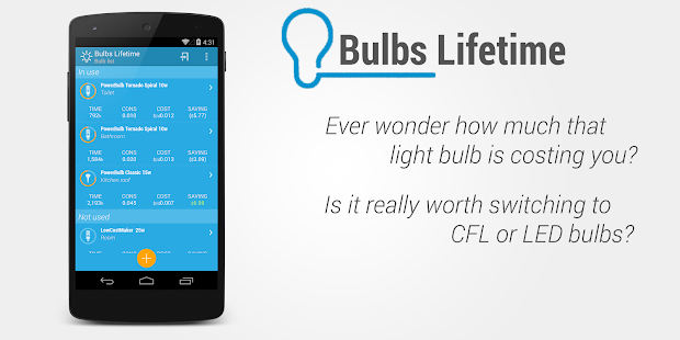 Light Bulbs Lifetime- screenshot thumbnail