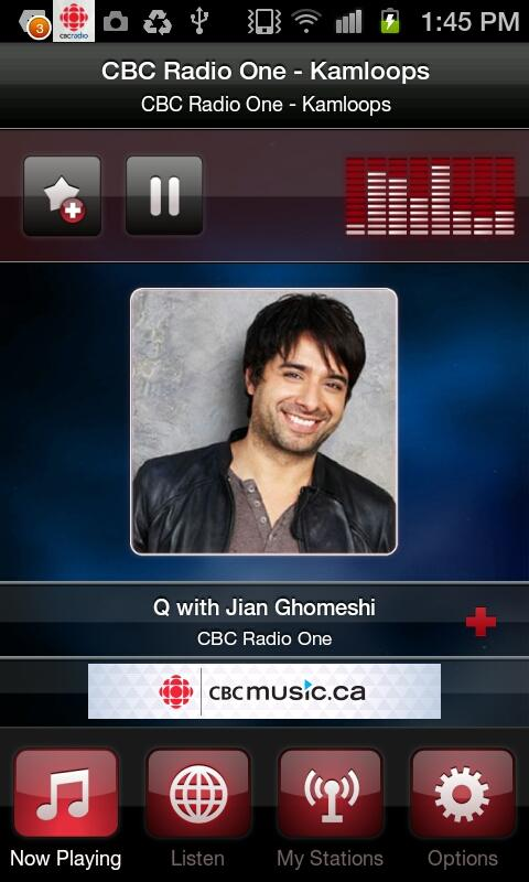 CBC Radio - screenshot