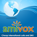 Amivox Cheap Int'l Calls logo