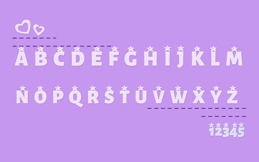 Star Font 2