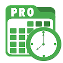 Employee Clock In Track Time icon