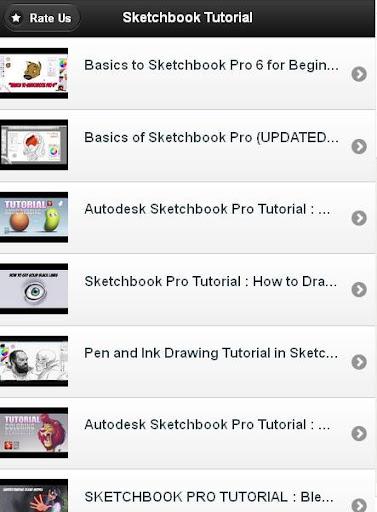 Sketchbook Tutorial Free