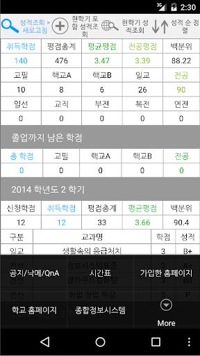 【免費生活App】한성대iN (한성대학교 공지/시간표/성적) / 한성대인-APP點子