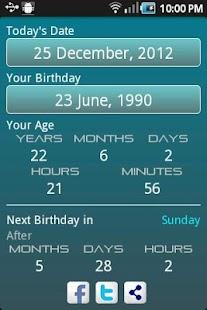 Age Calculator | حاسبة العمر screenshot