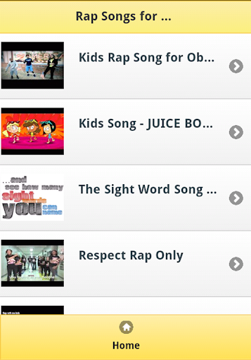 Rap Songs for Kids