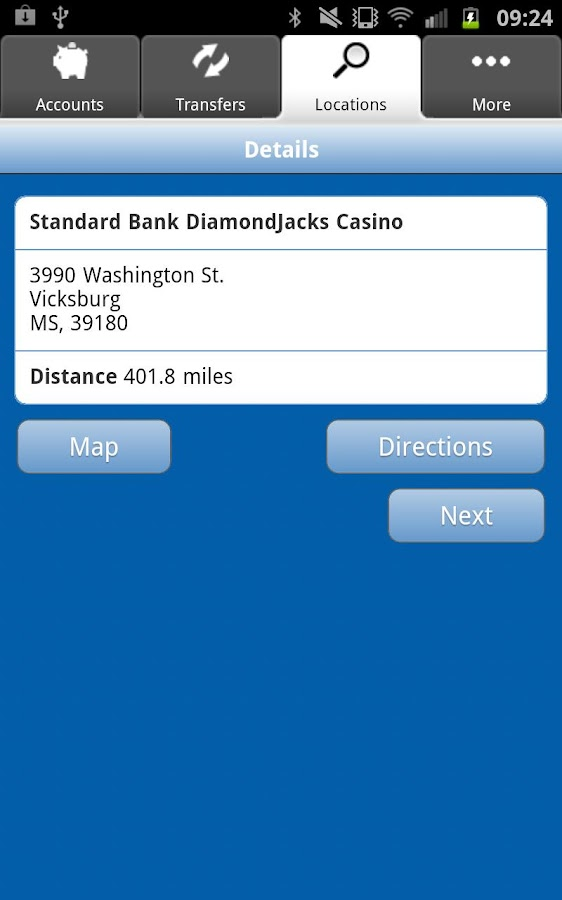 Standard Bank Mobile Banking - screenshot