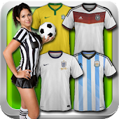 Football Kits World Cup 2014 APK for Bluestacks