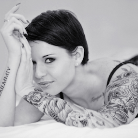 Inked by Ben Myburgh - People Portraits of Women