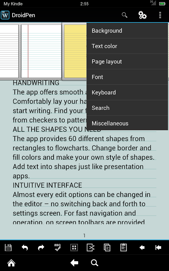 xWriter Pro 4 - screenshot