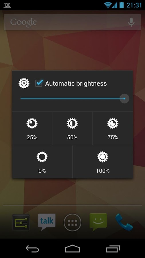 Settings Extended - screenshot