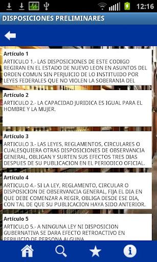 Codigos Nuevo Leon