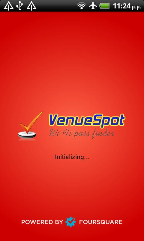 VenueSpot - Wifi pass finder- screenshot