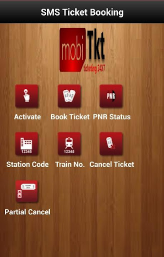 IRCTC Train Ticket Booking SMS
