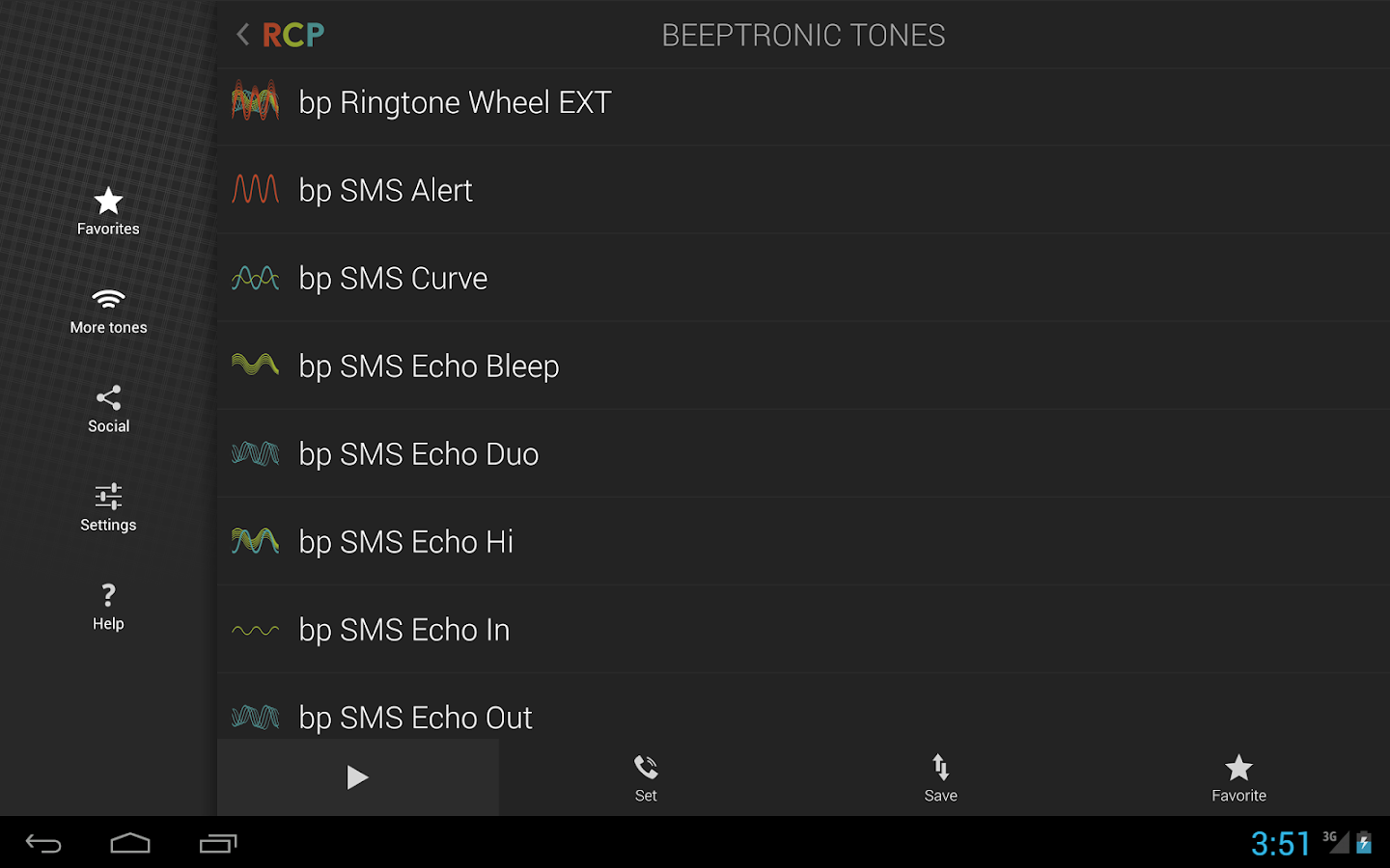 Beeptronic Tones- screenshot