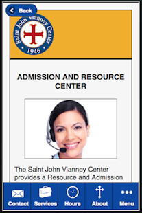 Saint John Vianney Center- screenshot thumbnail