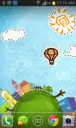 Cartoon City Live Wallpaper 1.1.6 screenshots 1