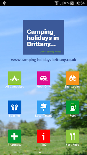 Camping Brittany App