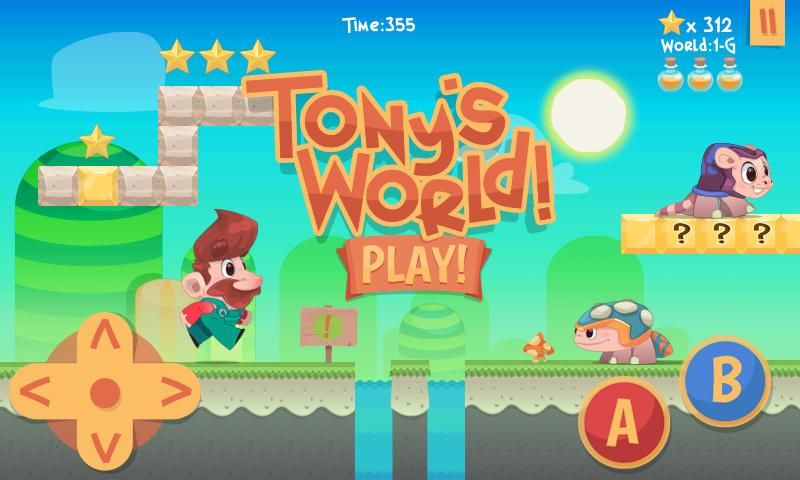 Tony's World- screenshot