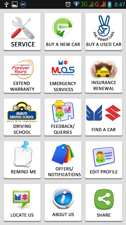 Kiran Motors - Maruti Suzuki- screenshot