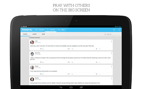 Instapray - pray for prayers! - screenshot thumbnail