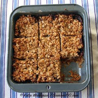 One-Pot Raspberry Oatmeal Bars