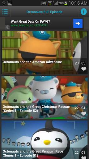 【免費媒體與影片App】Watch Octonauts-APP點子