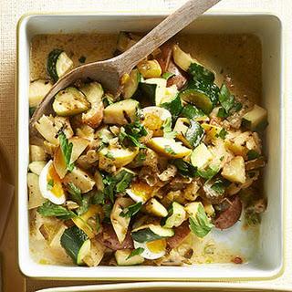 Honey-Dijon Zucchini Potato Salad
