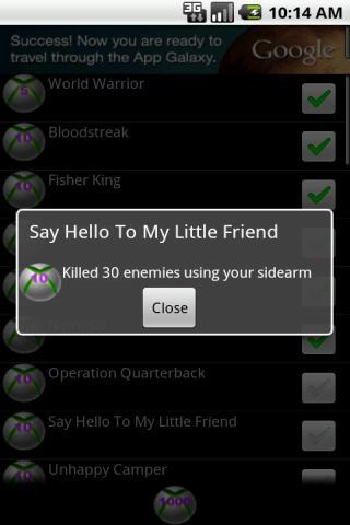 Achievements 4 Ghost Warrior 2 - screenshot
