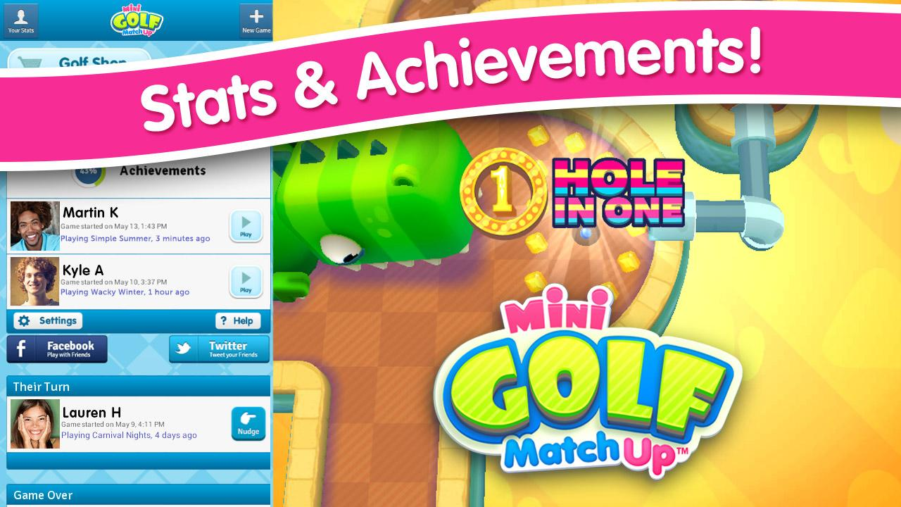 Mini Golf MatchUp™ - screenshot