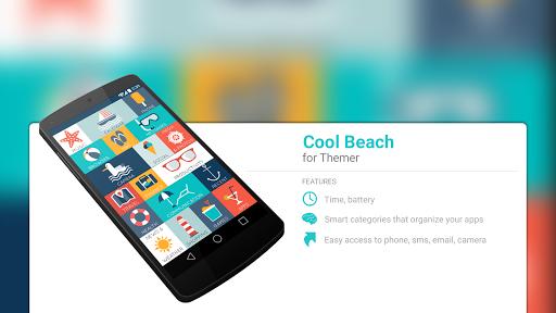玩免費個人化APP|下載クールなビーチのテーマ app不用錢|硬是要APP