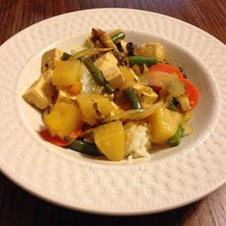 Sweet and Sour Tofu Veggies.