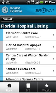 Florida Hospital ER Wait - screenshot thumbnail