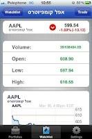 Screenshot of FXG Stock Portfolio No' 1