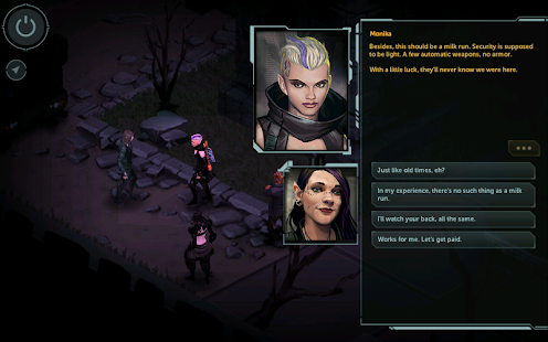 Shadowrun: Dragonfall - DC Screenshot