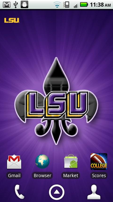 LSU Revolving Wallpaper - screenshot