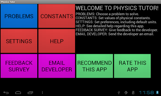 Physics Tutor - screenshot thumbnail