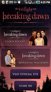 Breaking Dawn Countdown Widget - screenshot thumbnail